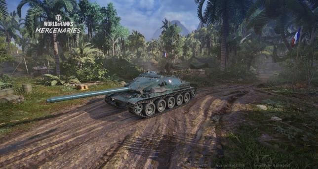 传奇轻坦克赠送!《坦克世界:雇佣军》主机版5周年庆典