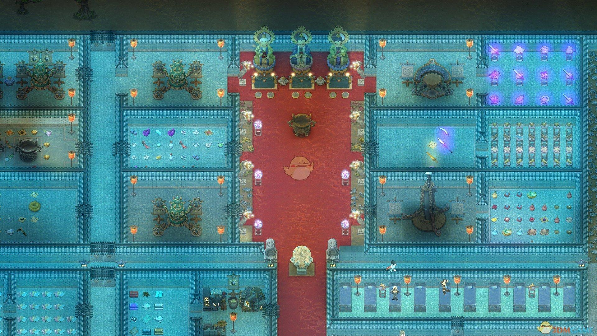 《了不起的修仙模拟器》太极门派布局图分享