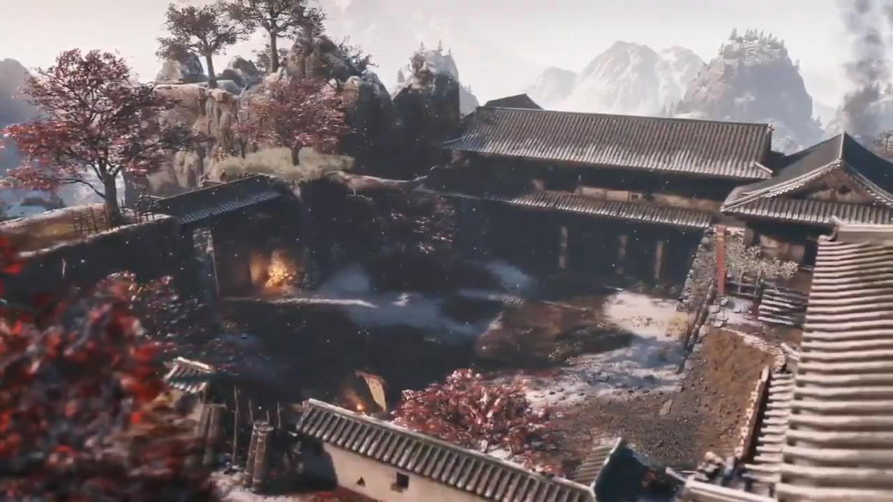 《只狼:影逝二度》新Boss宣传片 山内典膳将军登场