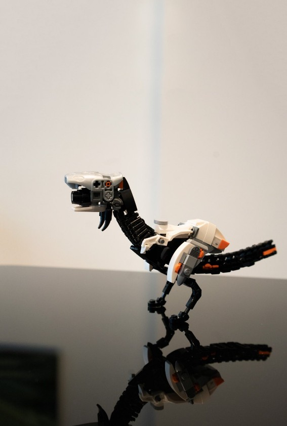 大神用乐高神还原《地平线:黎明时分》四只机械兽