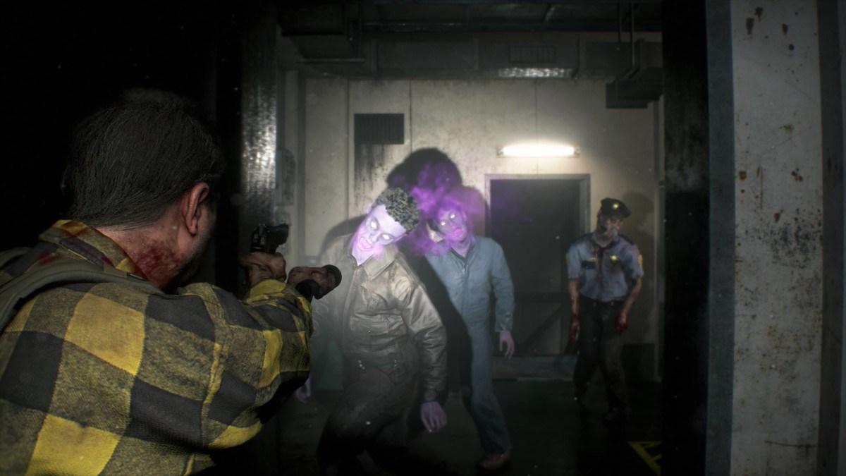 <b>《生化2重制版》DLC幽灵幸存者新图 紫色僵尸来袭</b>