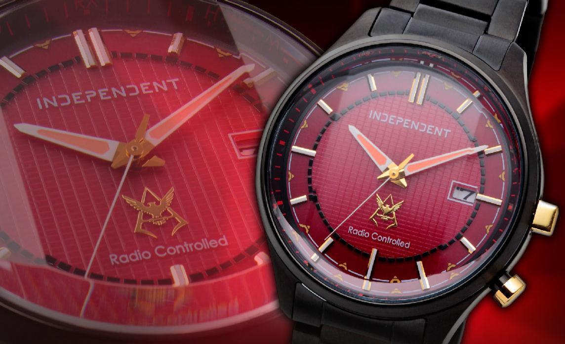 有一种红叫夏亚红!高达40周年纪念手表夏亚吉恩款惊艳登场