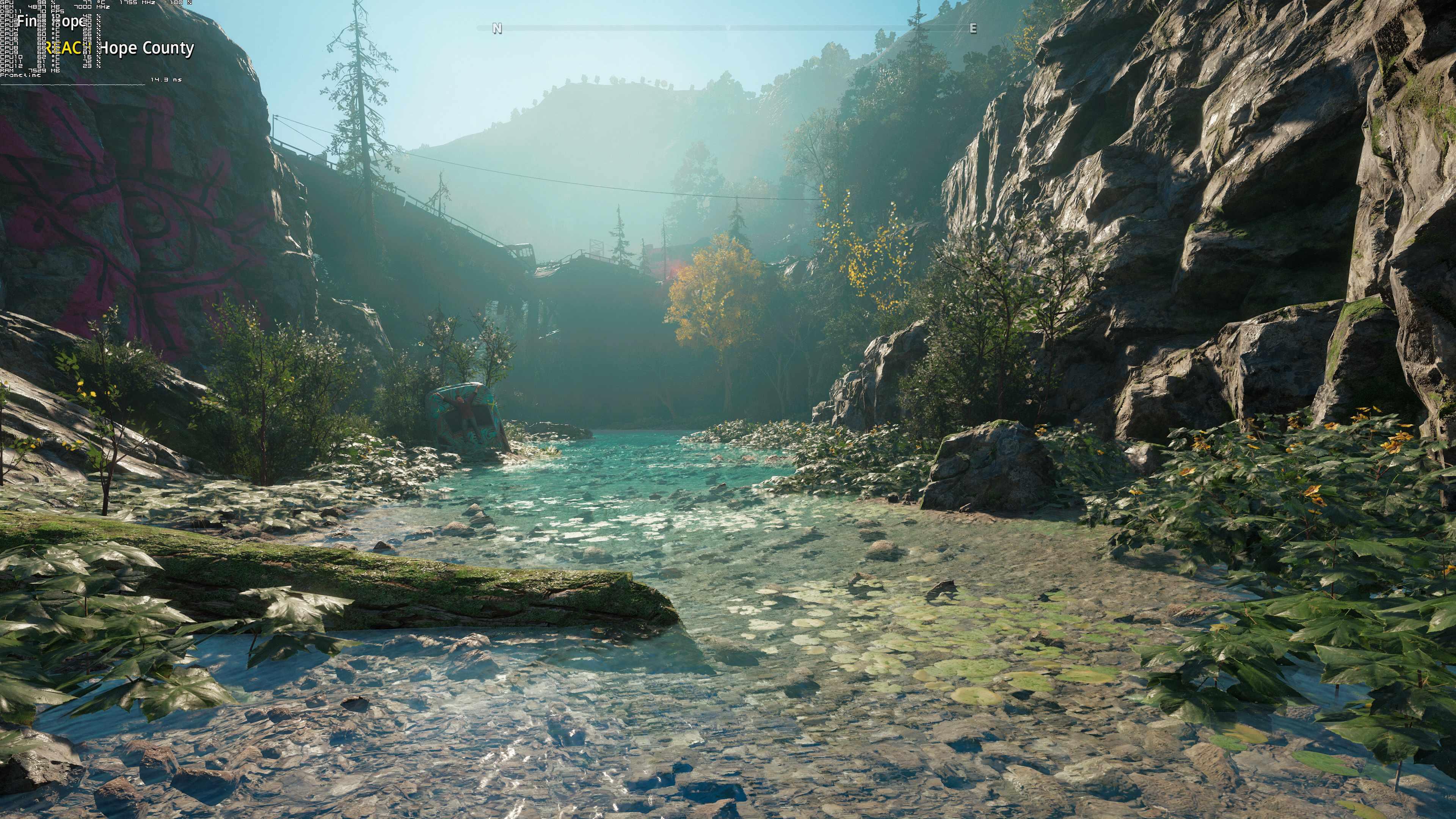 《半壁江地脊惊魂:新晨光》4K分辨比值极限画质截图展即兴
