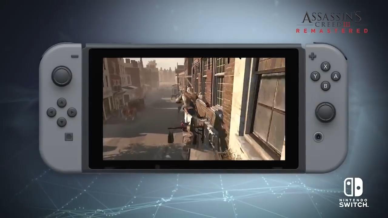《刺客信条3:重制版》Switch版官宣 但要等到5月发售