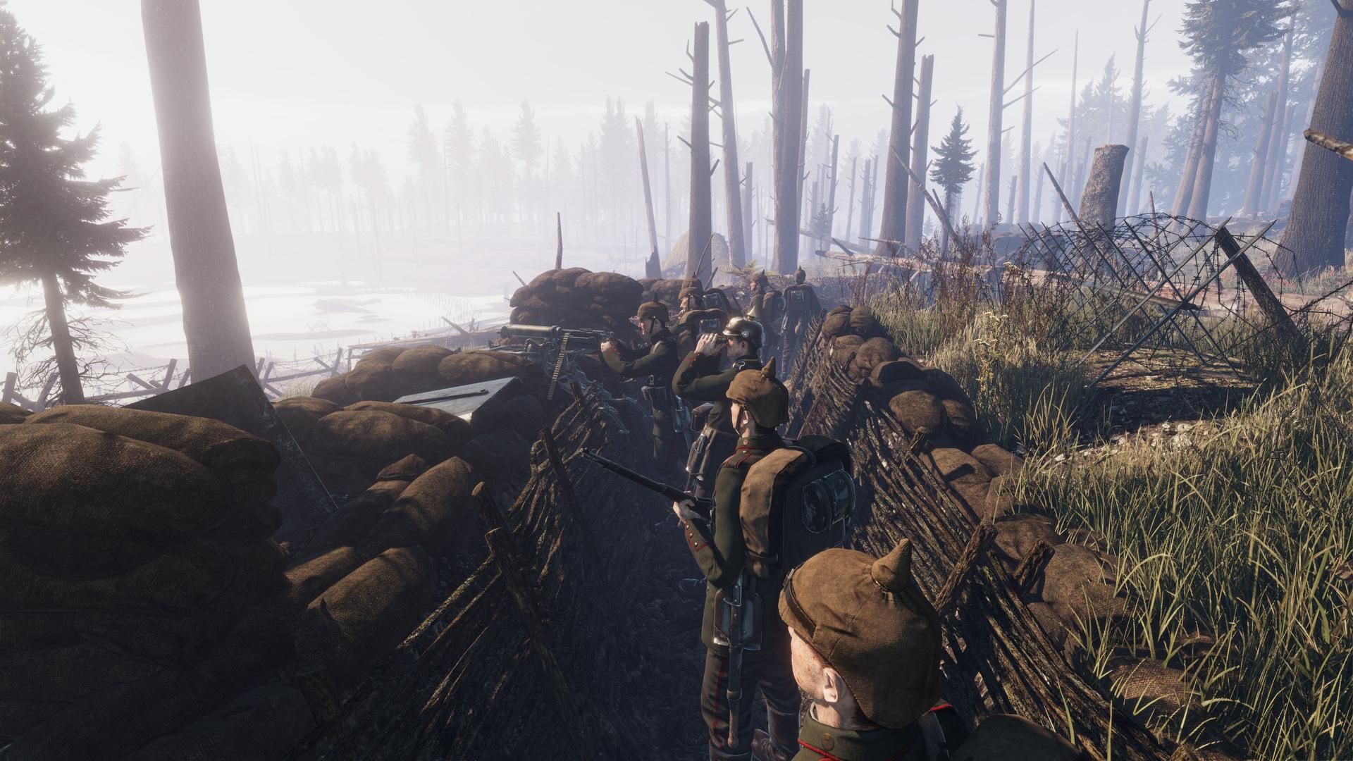 《坦能堡》Steam版正式发售 重返第一次世界大战