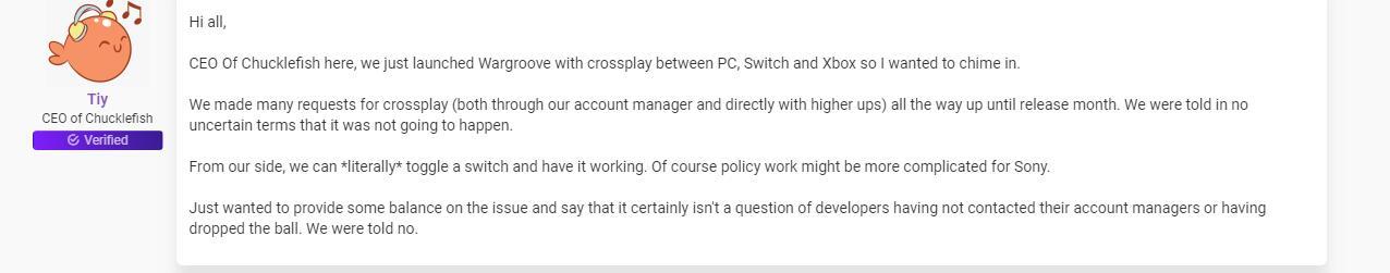 没那么简单!发行商继续质疑索尼的跨平台服务策略
