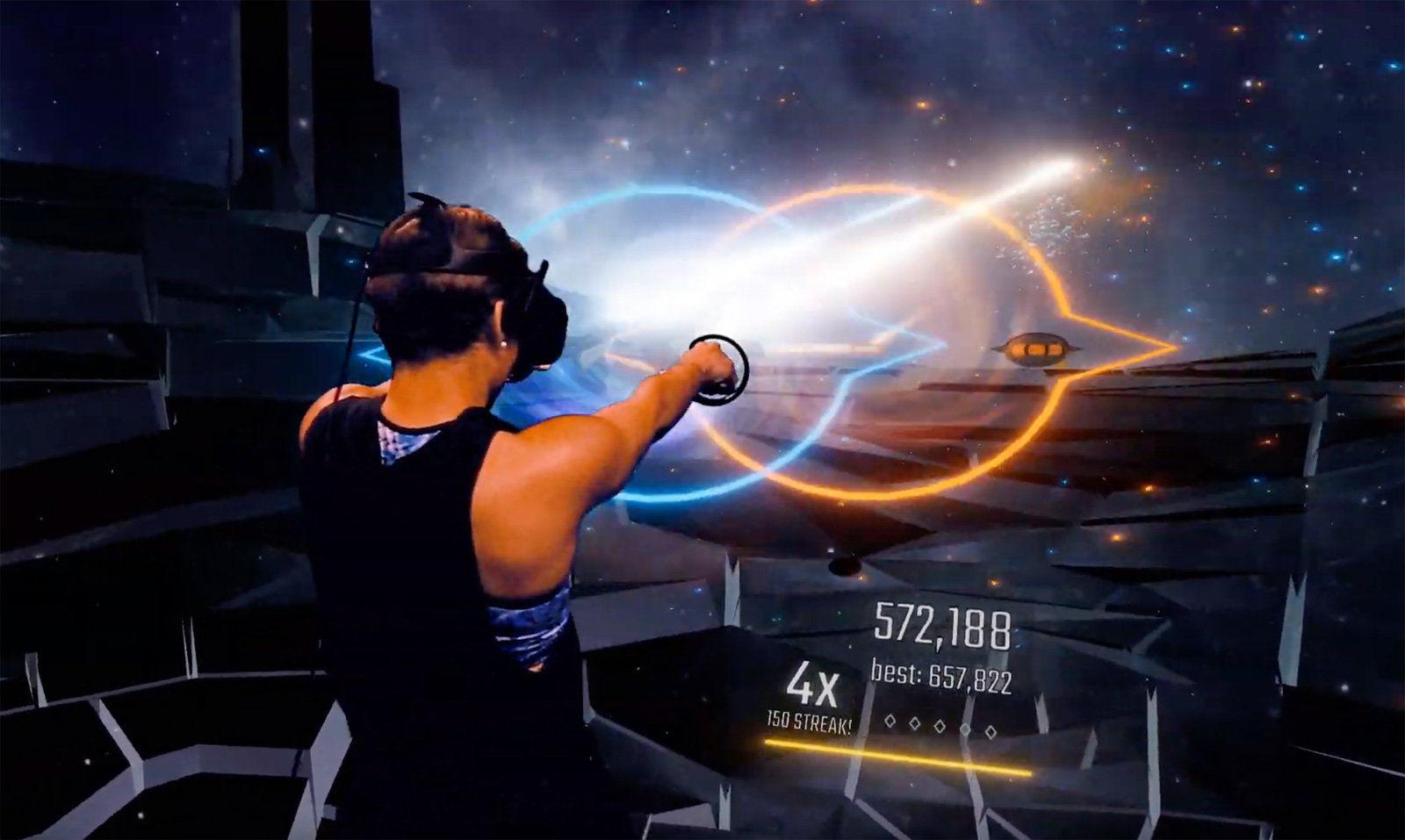 新VR游戏《Audica》发布 与《节奏光剑》互别苗头