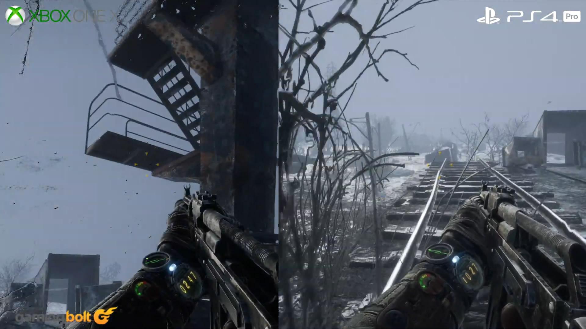 《地铁:逃离》PC/PS4 Pro/X1X对比 PC版画面最棒
