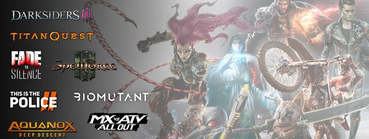 满血复活后的THQ干劲十足 有77款游戏作品正在开发中