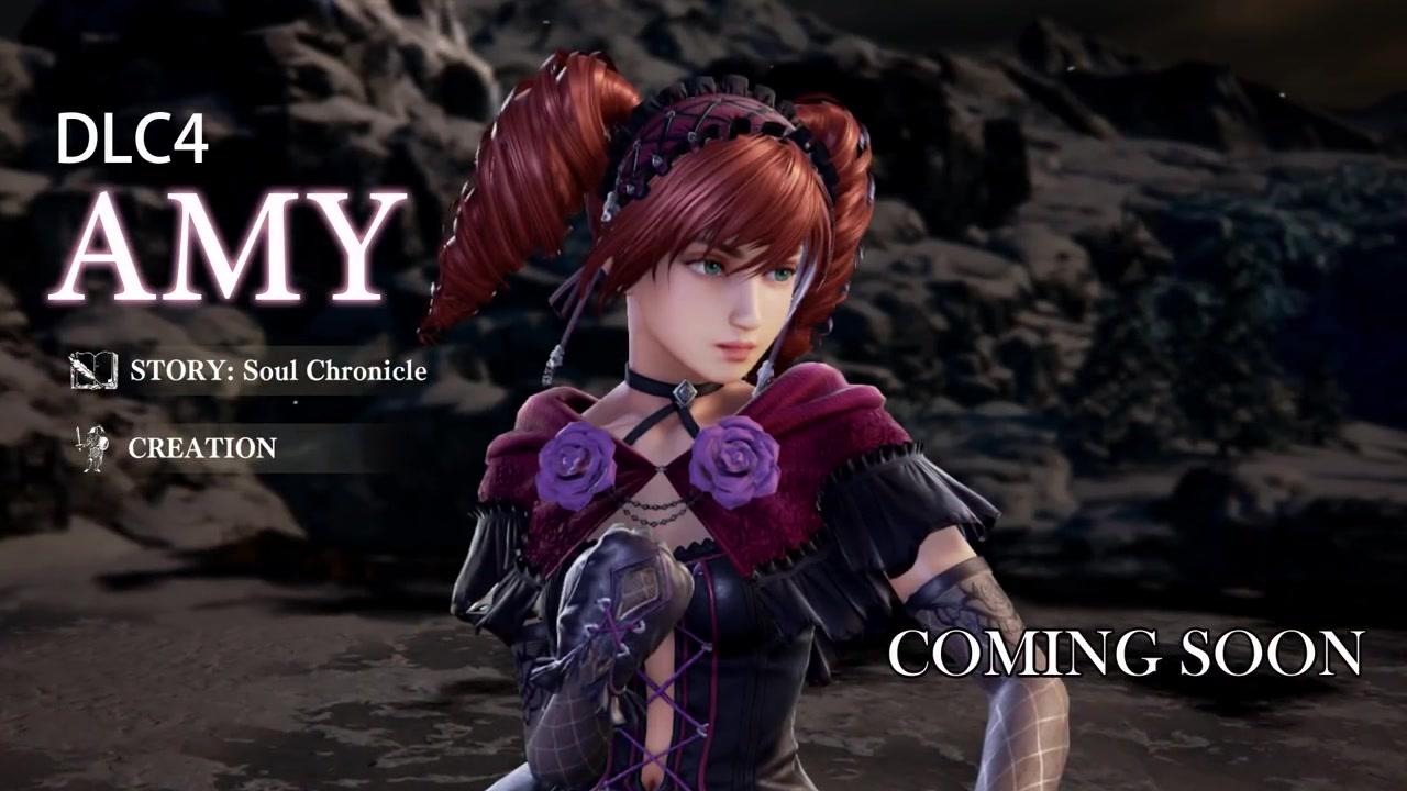 《灵魂能力6》全新DLC角色艾米索雷尔公布