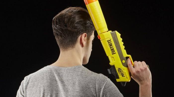 ¡¶堡垒之夜¡·全系列NERF枪周边开启预售 3月22日上市