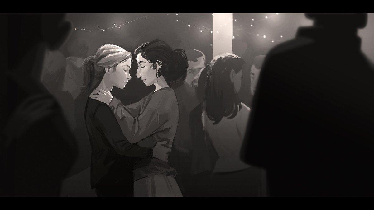 《美国末日2》 早期概念图赏 艾莉蒂娜深情对视