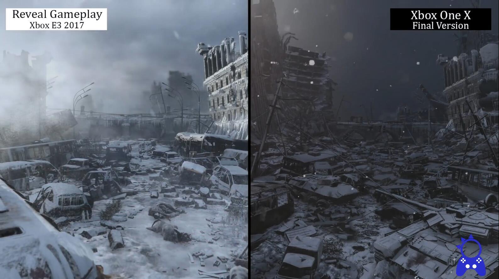 <b>缩水了么?《地铁逃离》2017E3演示与实机画面对比</b>