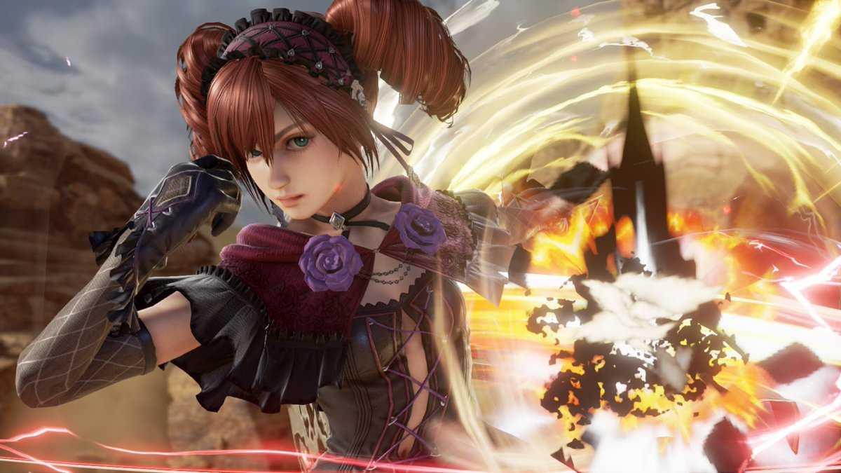 《灵魂能力6》DLC哥特萝莉妹艾米全新高清截图展示