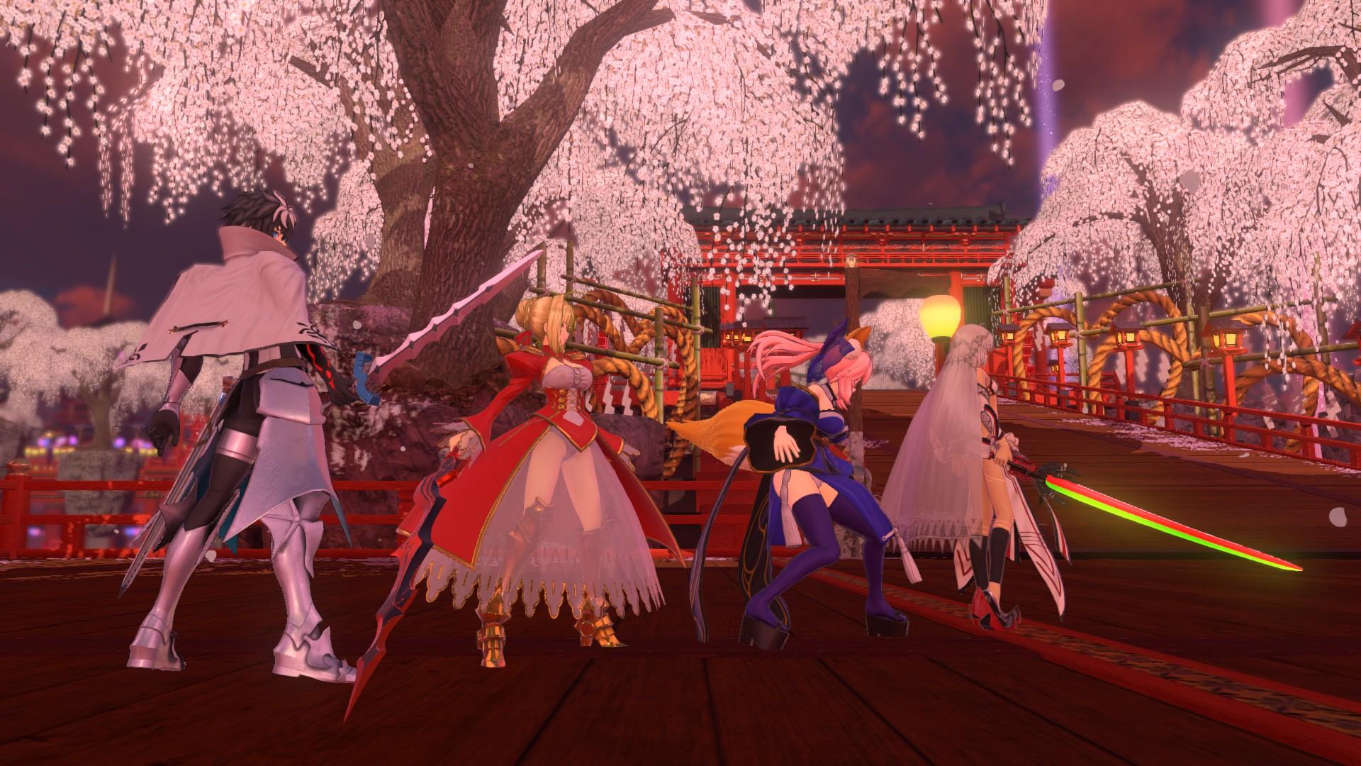 《Fate/EXTELLA LINK》Steam版3月发售 支持简中