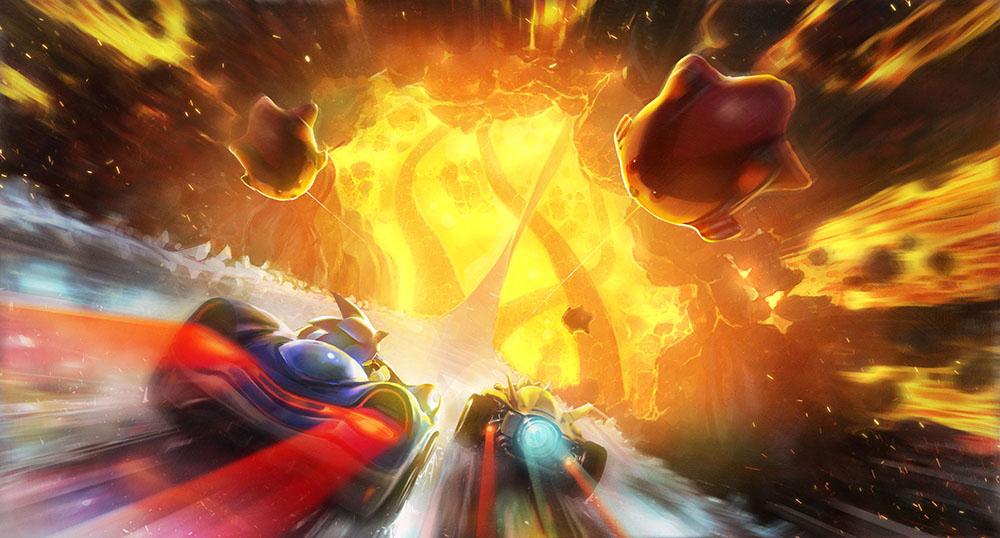 灼热熔岩之旅 世嘉明星竞速《团队索尼克赛车》最新赛道