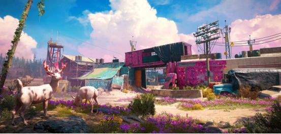 《孤岛惊魂:新曙光》评测:核爆后的粉红色曙光