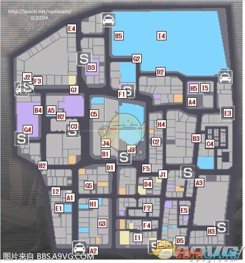 《如龙:极》全储物柜及钥匙位置攻略