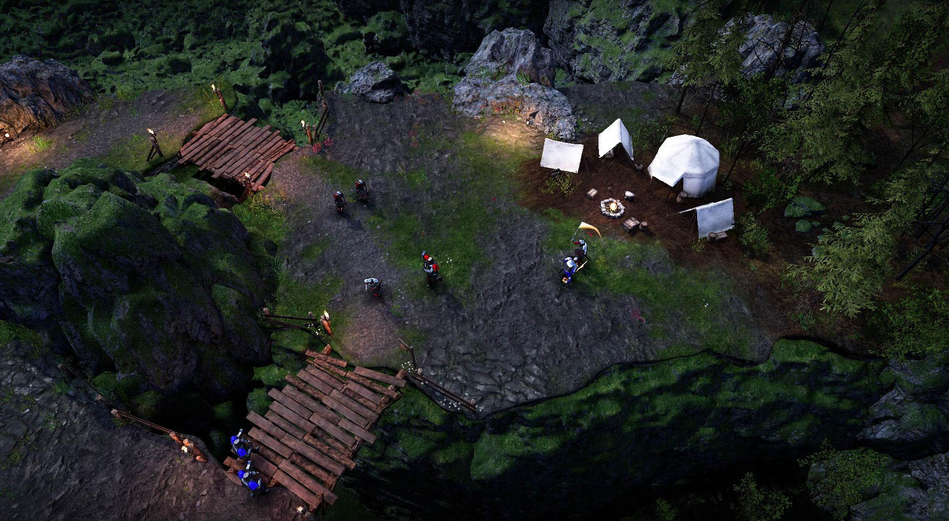 魔兽风格RTS《Bannermen》发售 售价90元支持简中