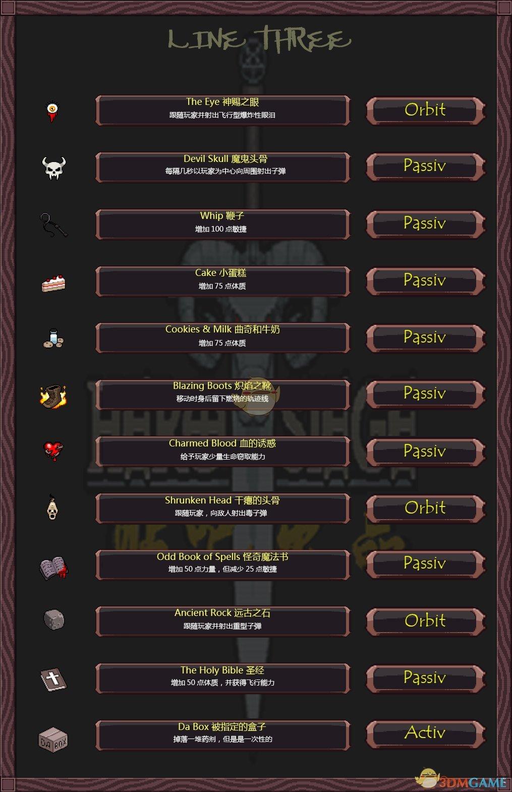 《攻城英雄》全道具属性一览