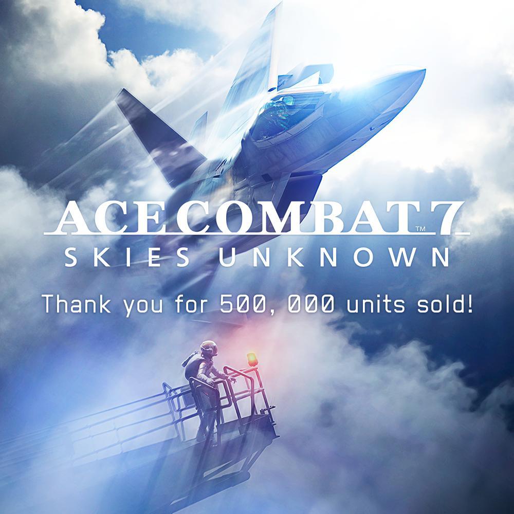 《皇牌空战7》亚洲销量公布 发售月内销量达50万