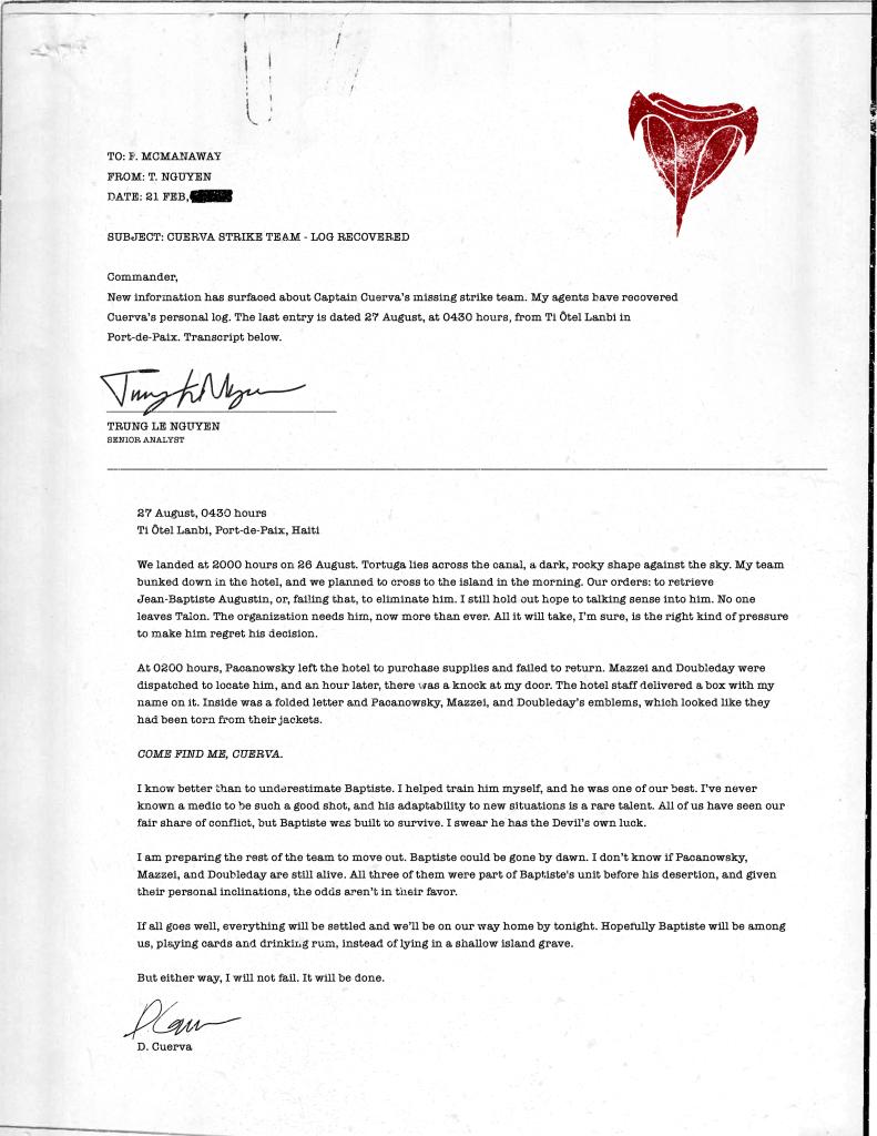 《守望先锋》 神秘信件透露新英雄为黑爪组织辅助角色