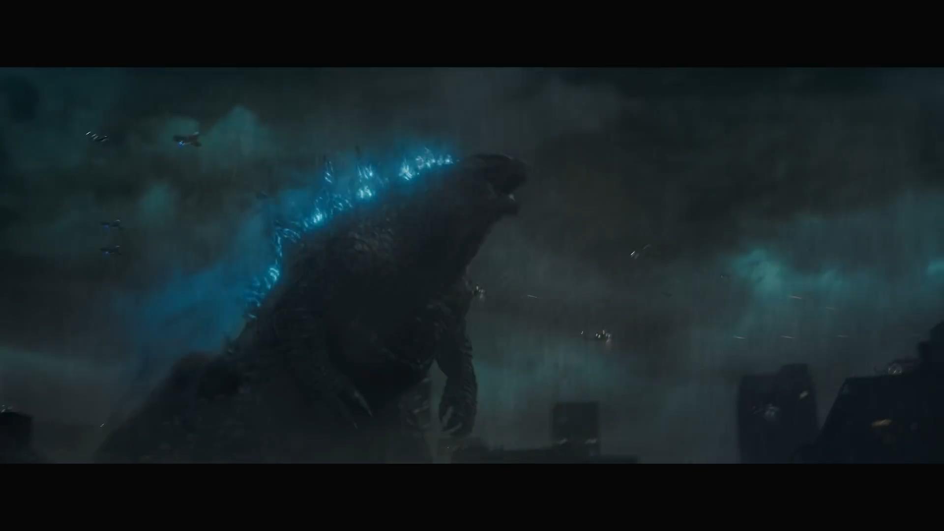 """《哥斯拉2》 """"王者将至""""预告 怪兽多到数不过来"""