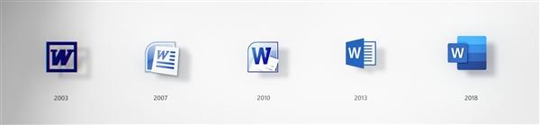 视觉风格进化 微软开始为Word等Office套件启用全新图标