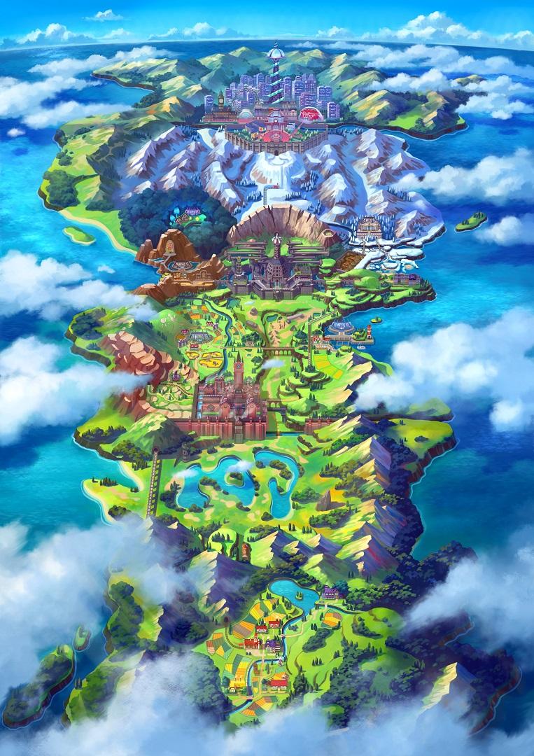 Switch 《精灵宝可梦:剑/盾》 首批游戏截图