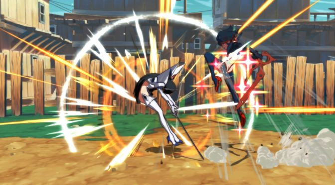 Arc System全新格斗游戏 《斩服少女:异布》 截图展示