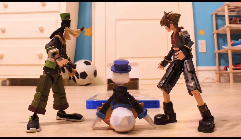 玩具世界的争夺战!《王国之心3》官方创意定格动画