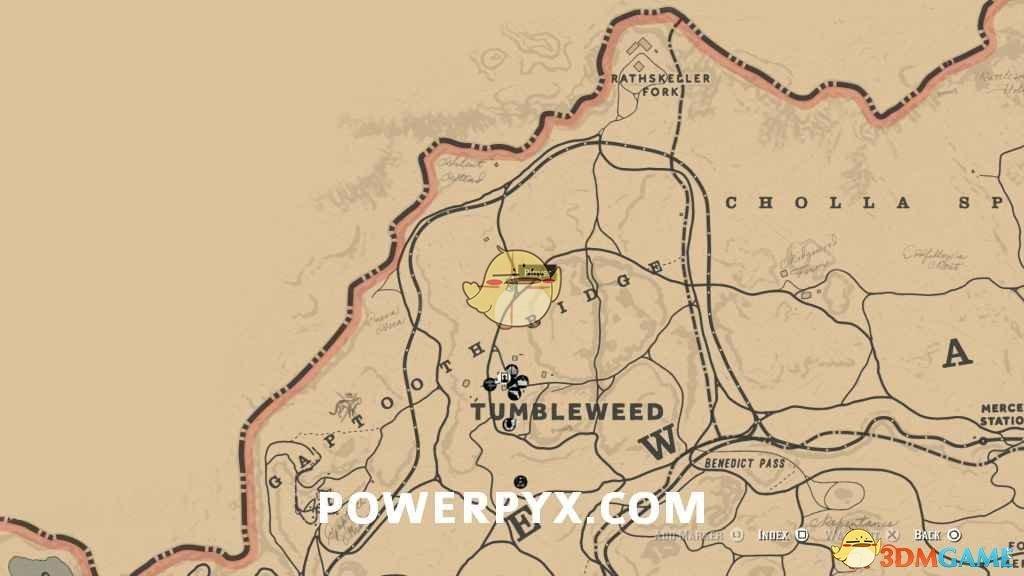 《荒野大镖客2》黑加仑采集位置介绍