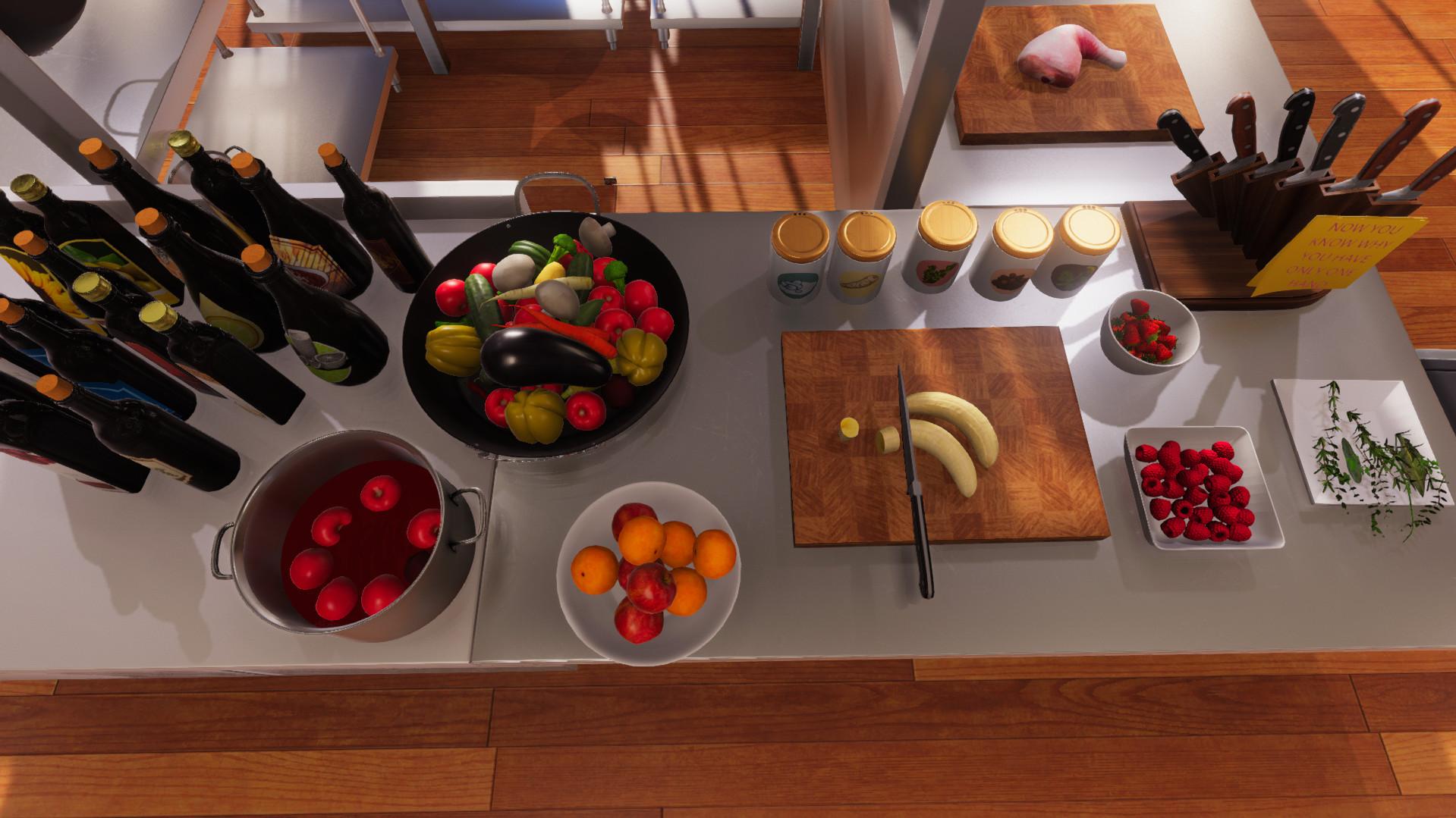 打造舌尖美味《料理模拟器》确定5月10日登陆STEAM
