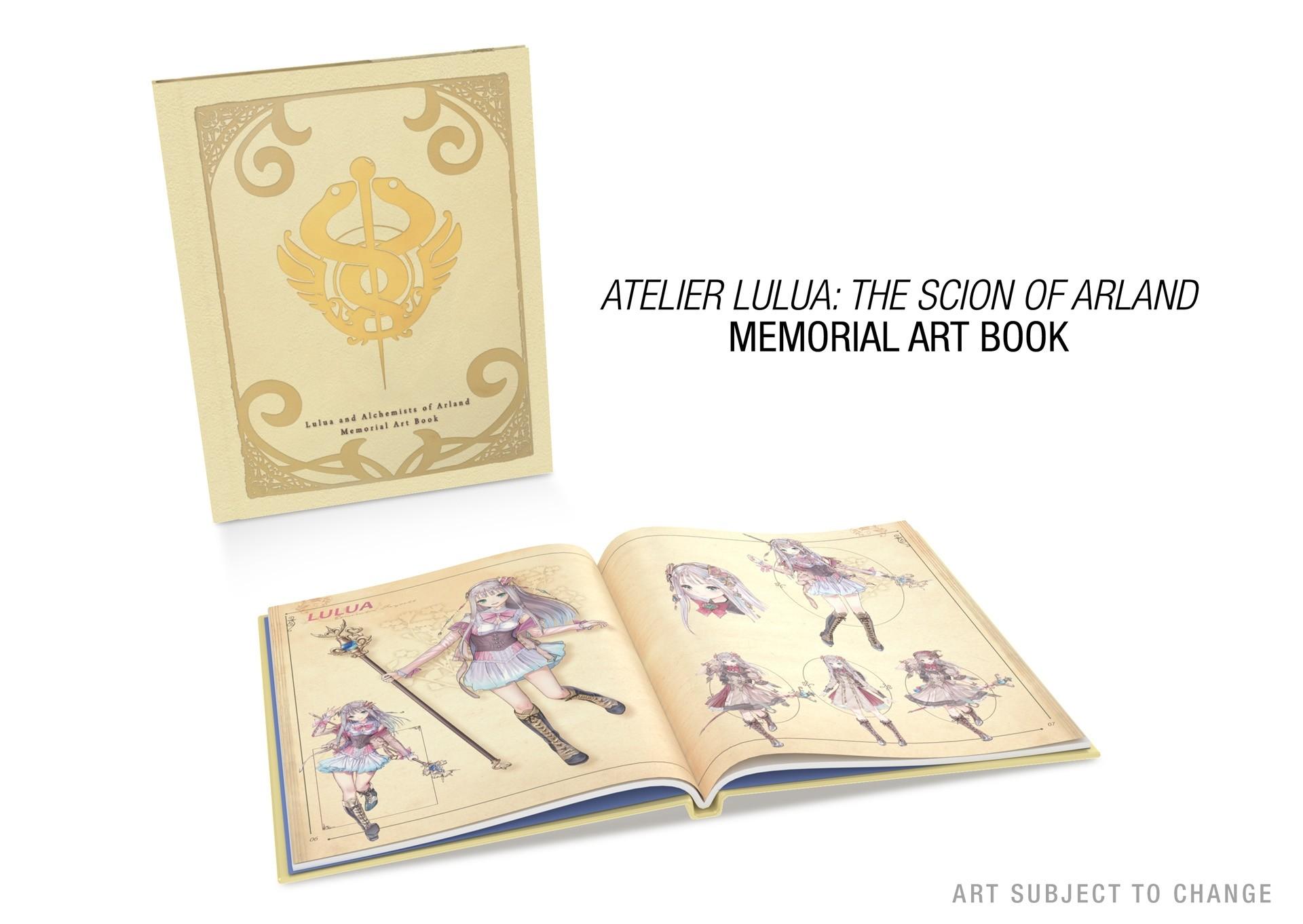 《露露亚的工作室》限定版商城上架 豪华内容公开