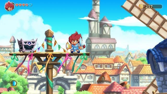 快来免费体验一下 《怪物男孩和诅咒王国》将推出NS试玩版