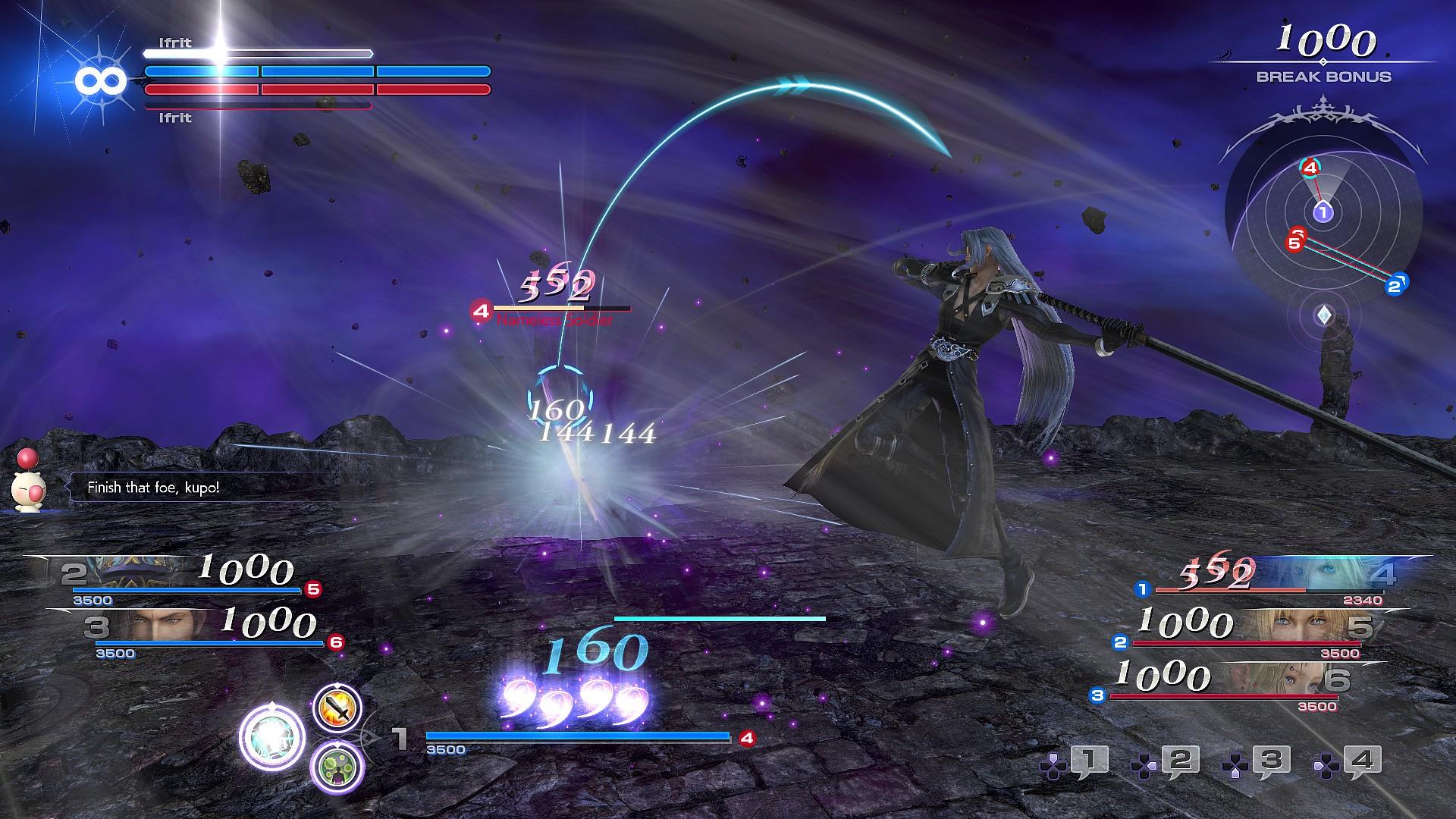 免费版《最终幻想:纷争NT》上架Steam 快来试试