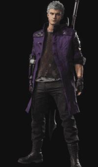 《鬼泣5》尼禄的蓝紫EX服装MOD