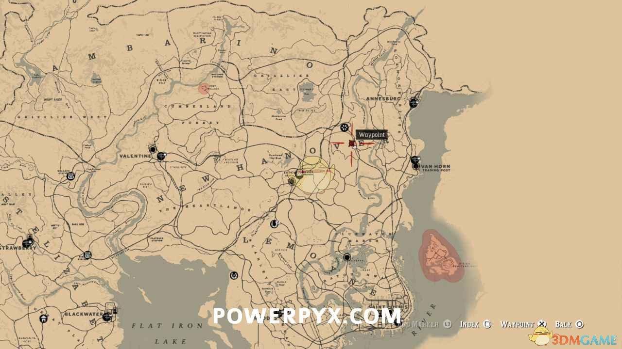 《荒野大镖客2》全坟墓位置一览