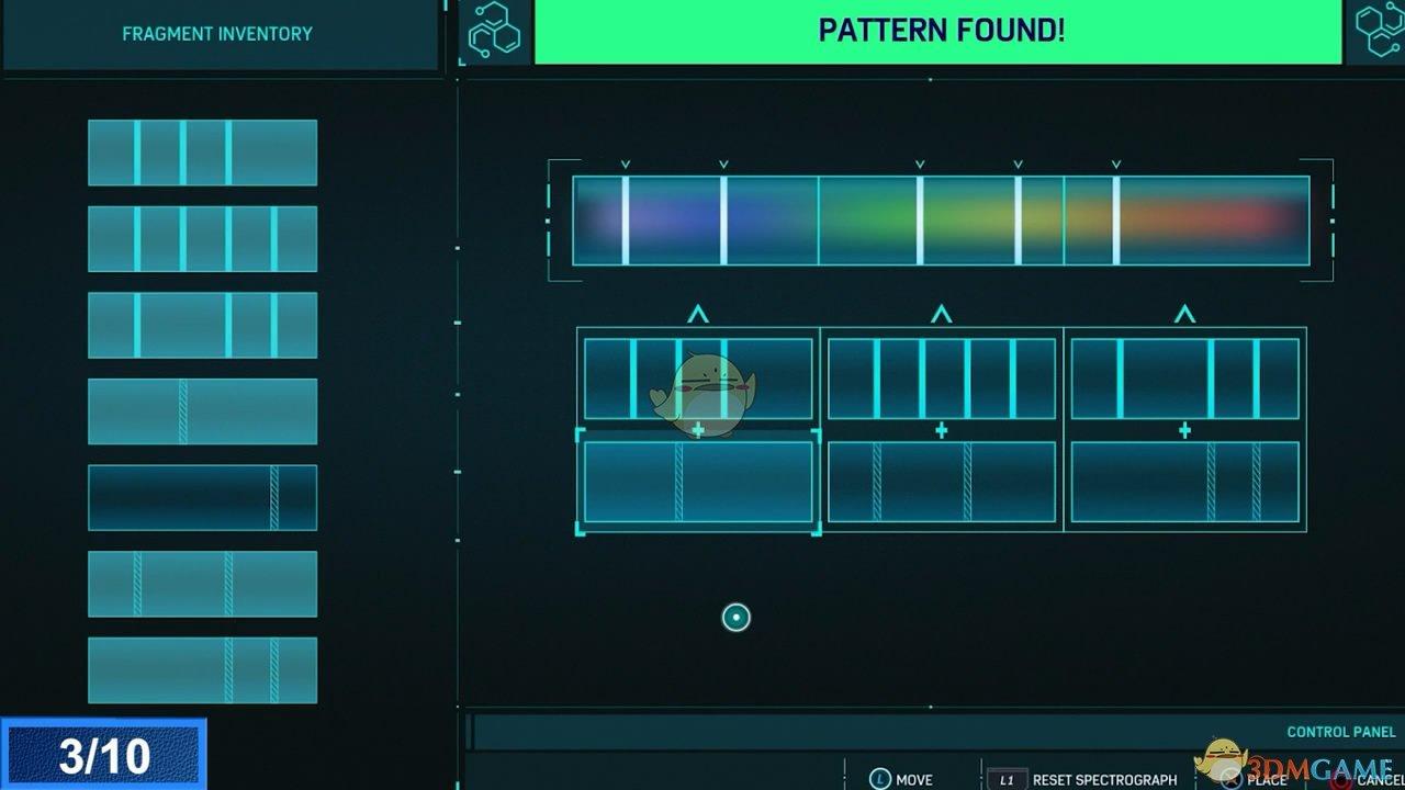 《漫威蜘蛛侠》实验室光谱解谜答案一览