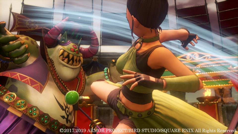 3D2D模式随时切换!NS版 《勇者斗恶龙11S》 追加新要素公开