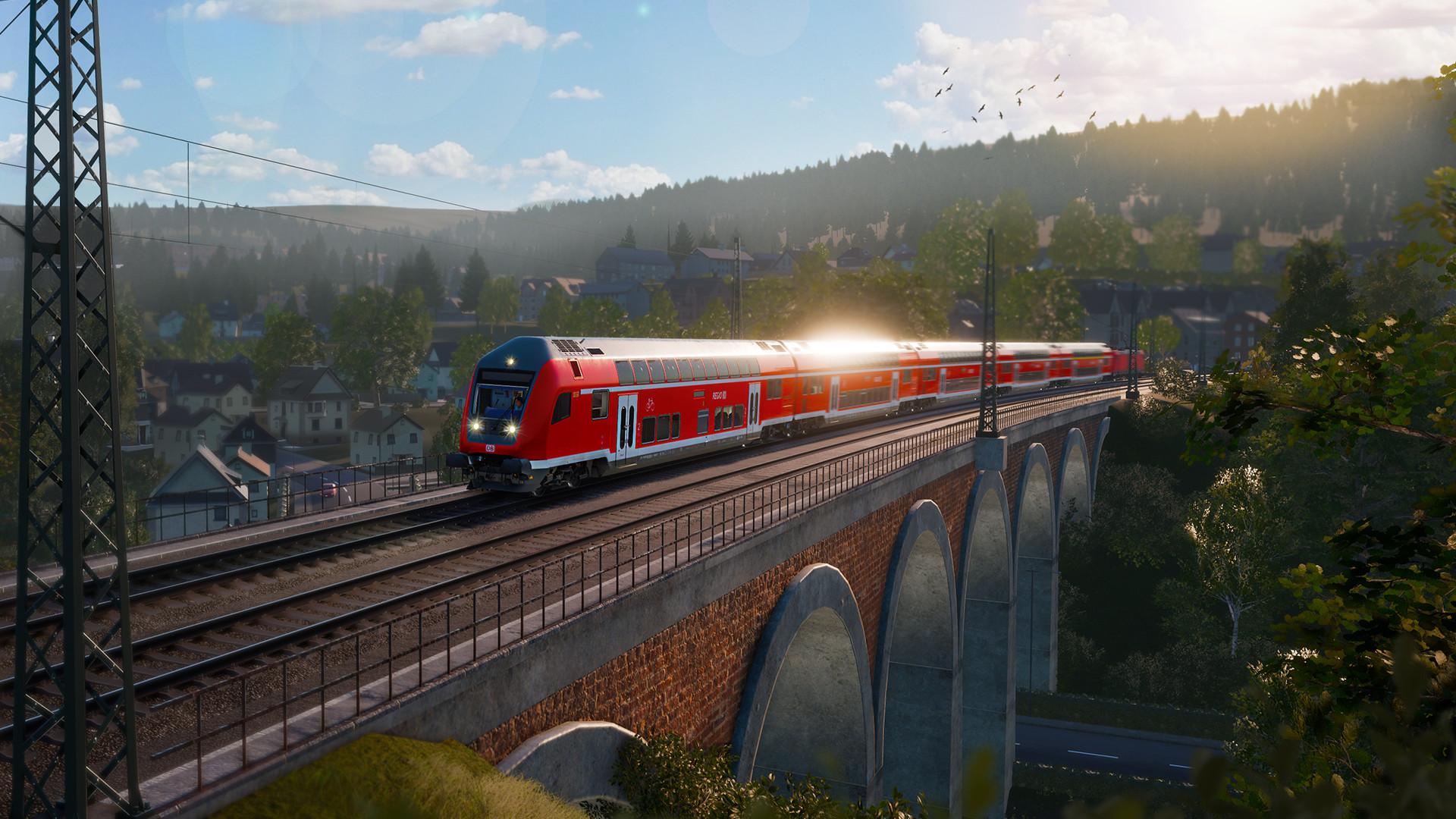 我的梦想是火车司机 《模拟火车世界》新DLC登陆主机
