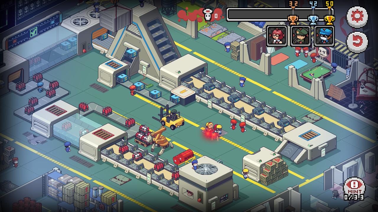 呆萌像素解谜游戏 《死神来了》 上线PS4