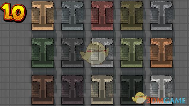 《边缘世界》新的石头种类v1.0 MOD