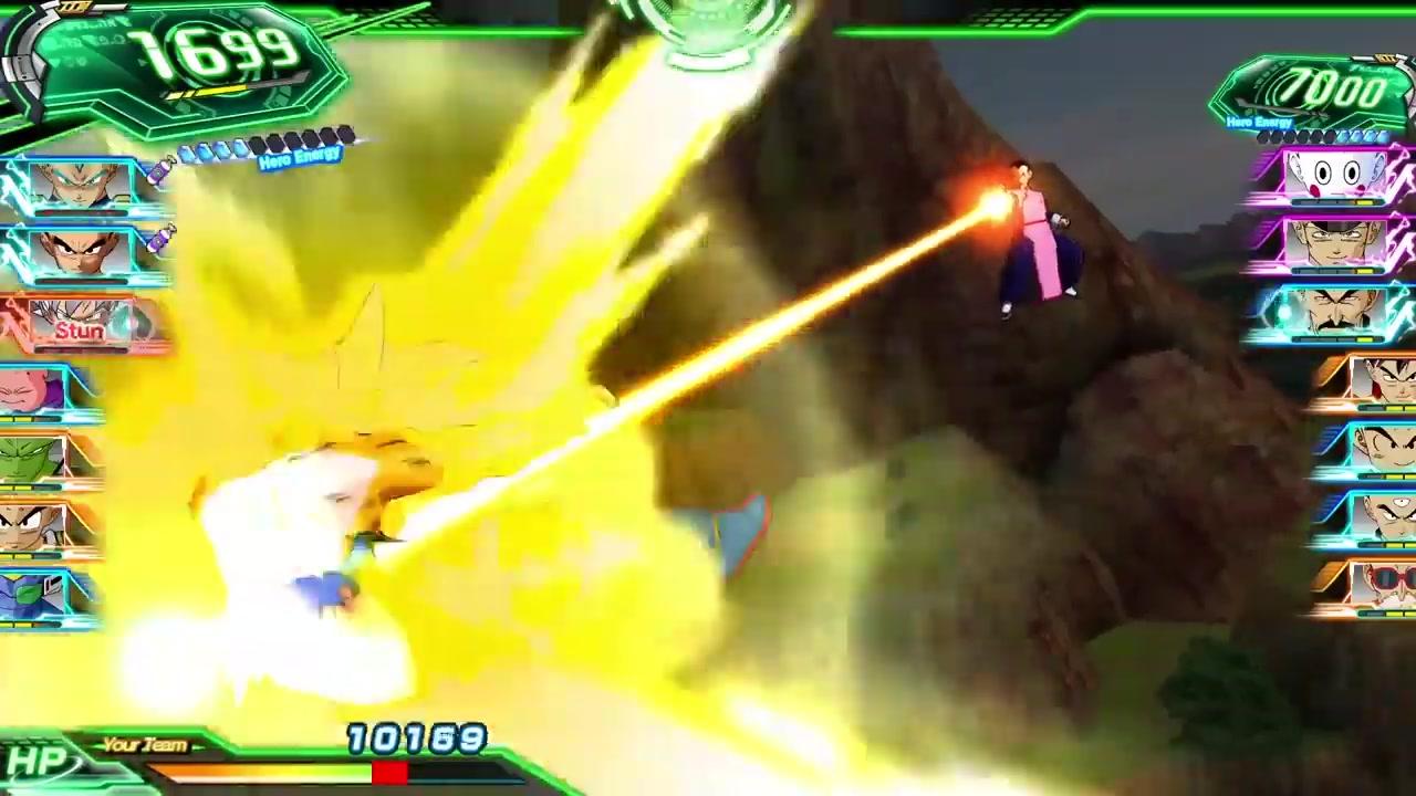 《超级龙珠英雄:世界任务》实机战斗视频分享