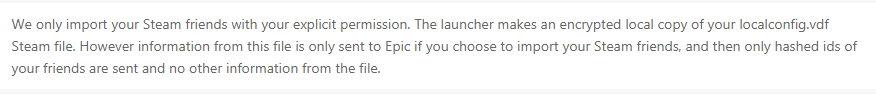 Epic平台作大死?网友爆其收集Steam好友和澳门皇冠官网记录