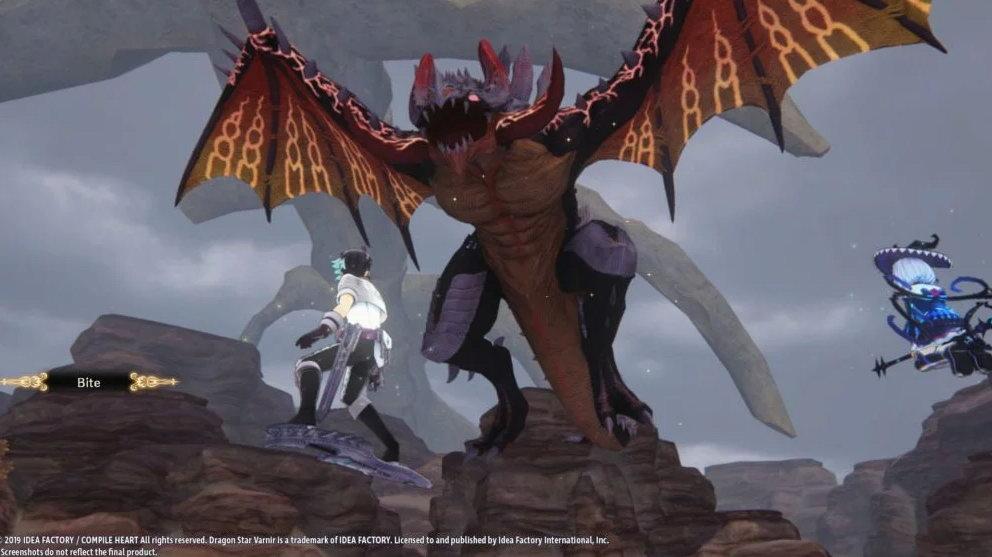 地雷社RPG《龙星的瓦尔尼尔》新图 魔女变身性感诱惑