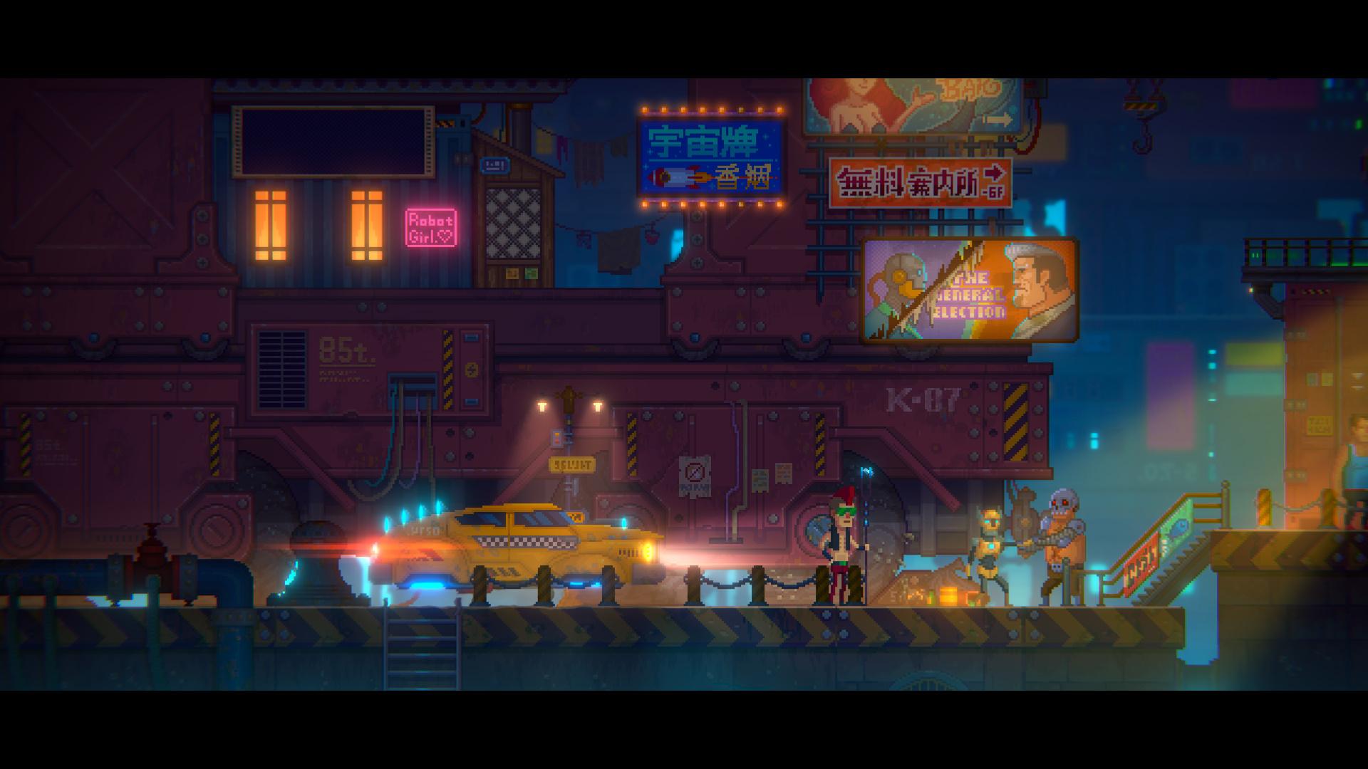 像素剧情解谜类游戏《迷雾侦探》将于4月30日登陆Steam平台