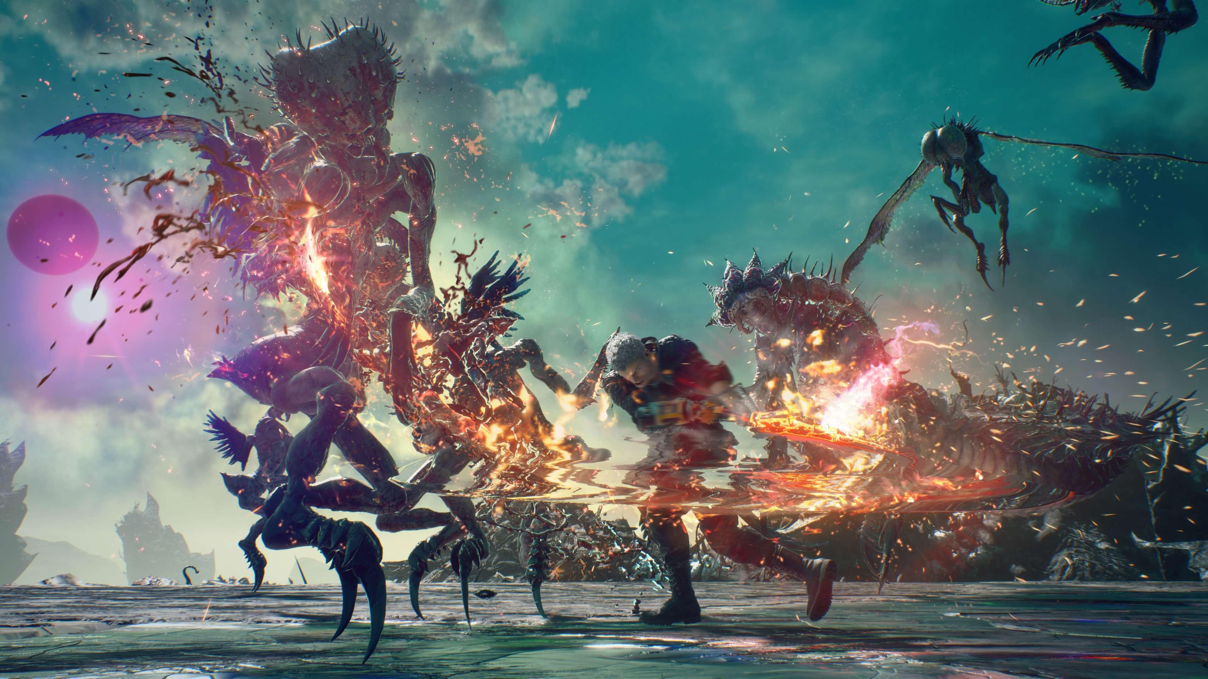 愚人节上线 《鬼泣5》首个免费DLC《血宫》超美截图公布