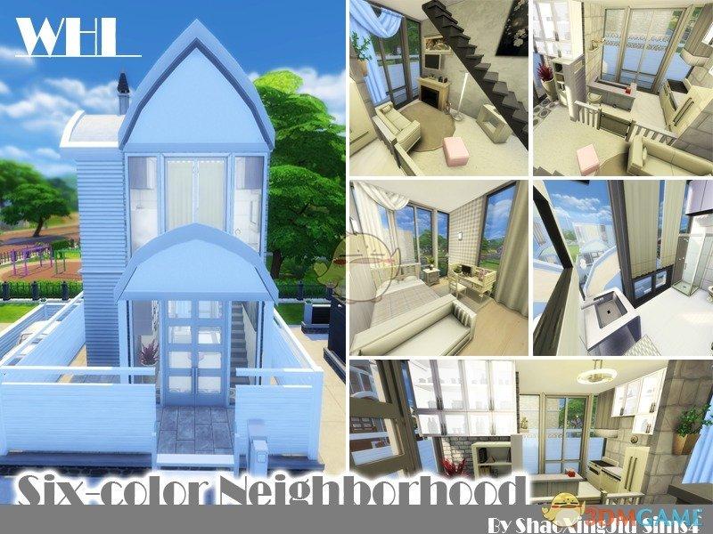 《模拟人生4》六色住宅区MOD