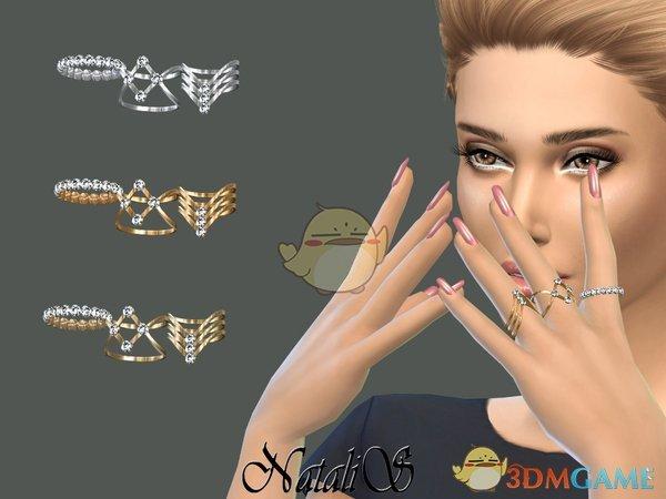 《模拟人生4》女性豪华水晶戒指MOD